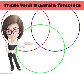 Triple Venn Diagram Template