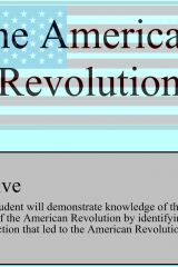 American Revolution | Smartboard Activity