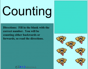 Counting Lesson | Smartboard Activity